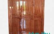 Tủ quần áo gỗ tự nhiên đẹp sang trọng